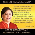 Elections 2013: Villar Clarifies Her Statement about Nurses