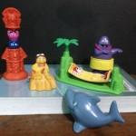 Vintage McDonalds Happy Meal Toys: 1996 Island Getaway