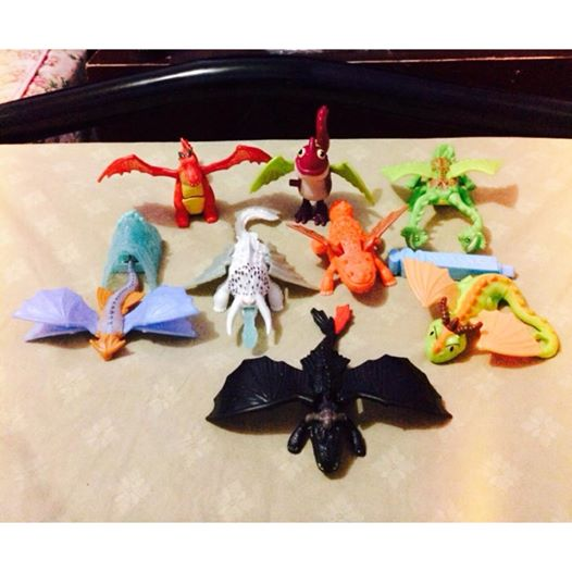 Mcdonalds Happy Meal 2014 How To Train Your Dragon 2