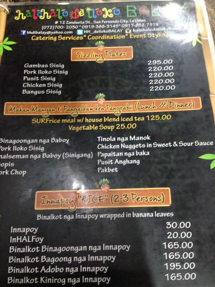 Restaurant Review Halo Halo De Iloko Balay
