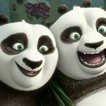 Kung Fu Panda 3 Photo: Po and his Dad