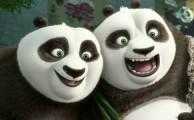 Kung Fu Panda 3 Photo: Po and his Dad