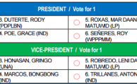 "Election 2016: ""Daang Matuwid"" Printed on Election Ballots Not Form of Cheating"
